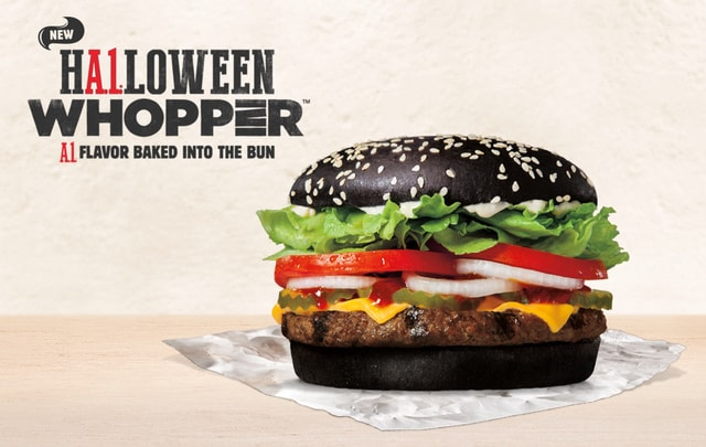 Burger King A 1 Halloween Whopper