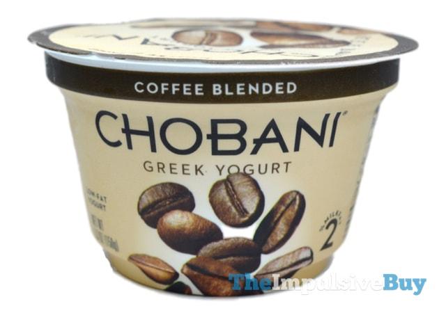 Chobani Coffee Blended Greek Yogurt