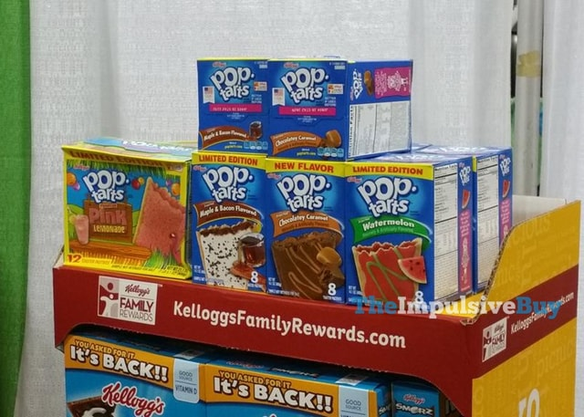 Frosted Maple  Bacon Chocolatey Caramel Watermelon and Pink Lemonade Pop Tarts