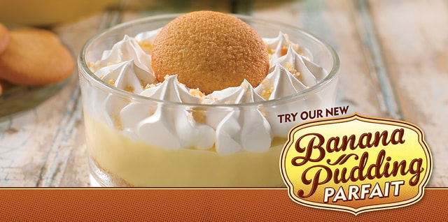 Popeyes Banana Pudding Parfait