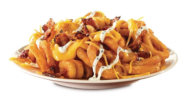 Arby s Loaded Curly Fries