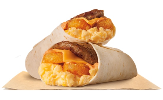 Burger King Hash Brown Burrito