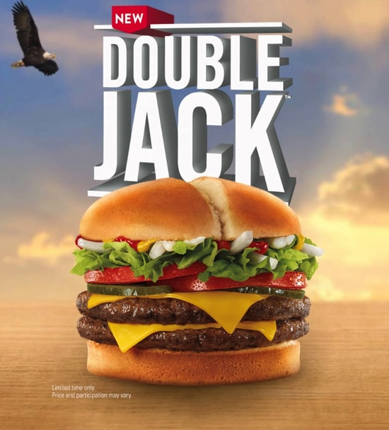 Jack in the Box Double Jack