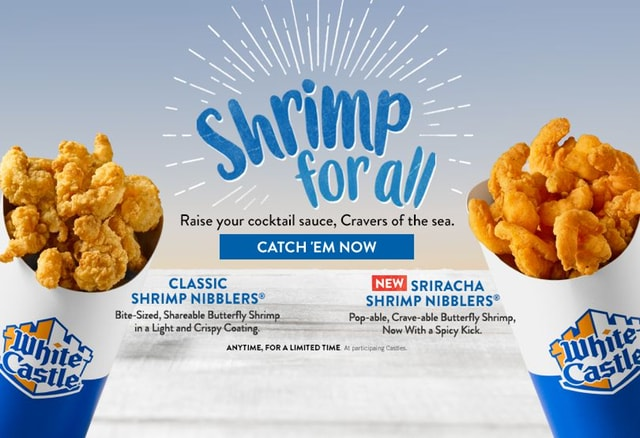 White Castle Sriracha Shrimp Nibblers