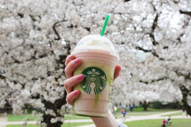 Starbucks CherryBlossomFrappuccino