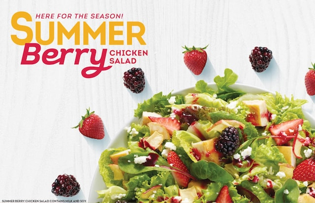 Wendy s Summer Berry Chicken Salad