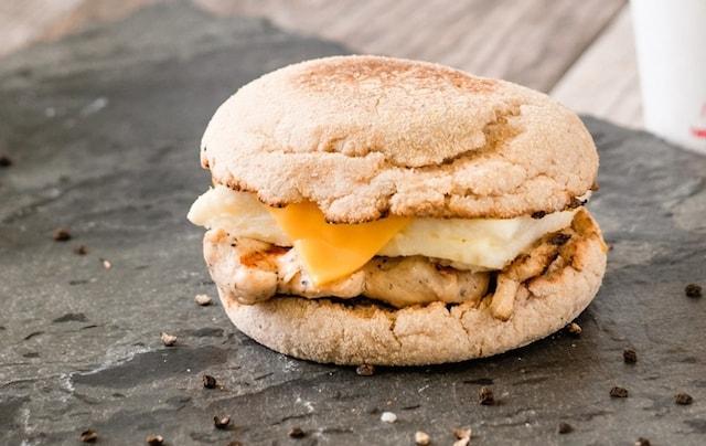 Chick fil A Egg White Grill Breakfast Sandwich