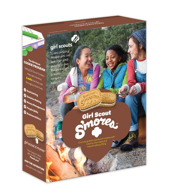 Girl Scout S mores Cookies 1