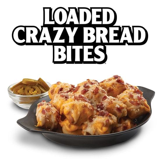 Little Caesars Loaded Crazy Bread Bites