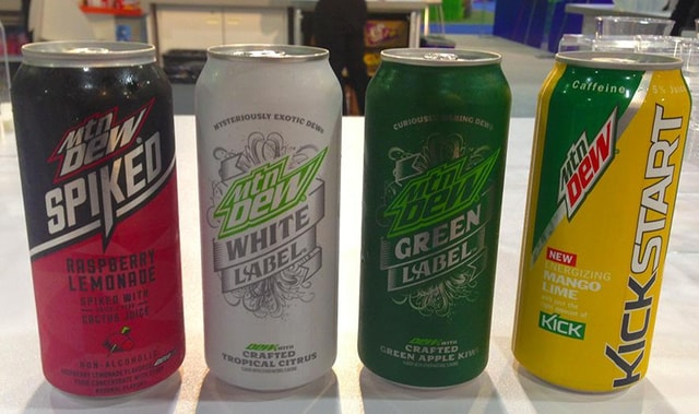 Mountain dew white green 885