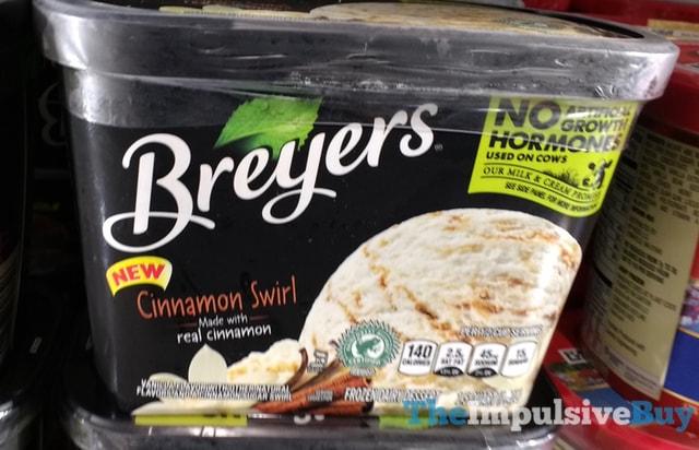 Breyers Cinnamon Swirl Frozen Dairy Dessert