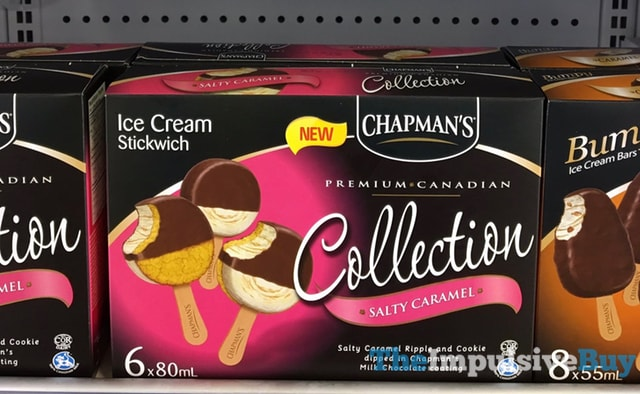 Chapman s Collection Salty Caramel Ice Cream Stickwich  Version 2