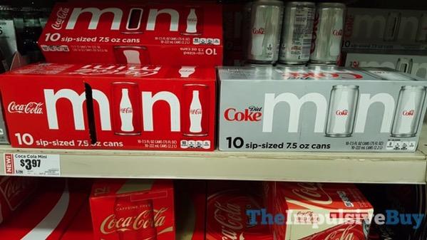 Coca Cola and Diet Coke Mini Fridge Packs