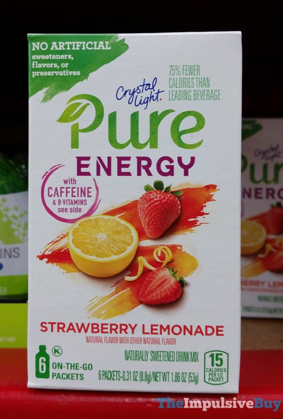 Crystal Light Pure Energy Strawberry Lemonade