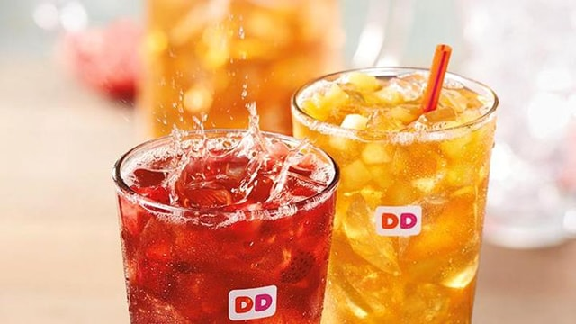 Dunkin Donuts Fruited Iced Teas
