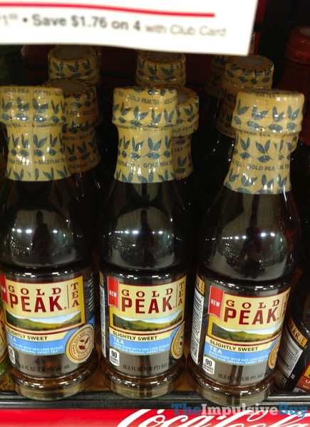 Gold Peak Slightly Sweet Tea