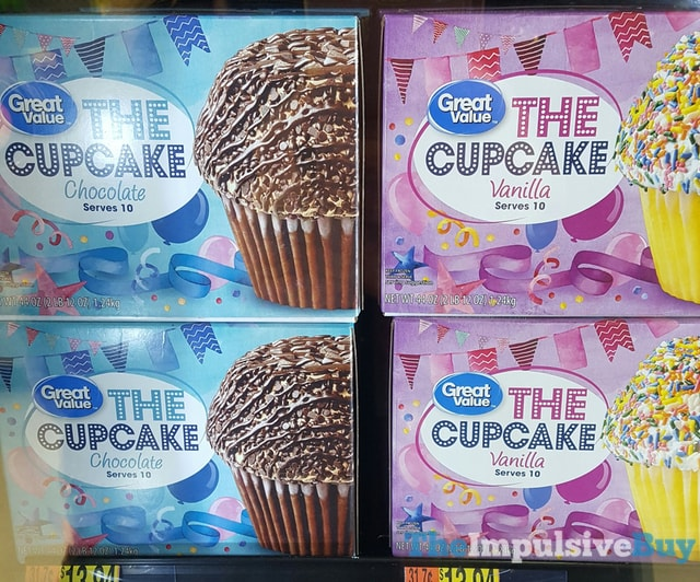 Great Value Chocolate and Vanilla The Cupcake
