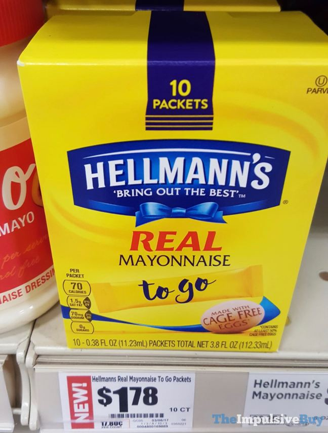 Hellmann's Real Mayonnaise To Go