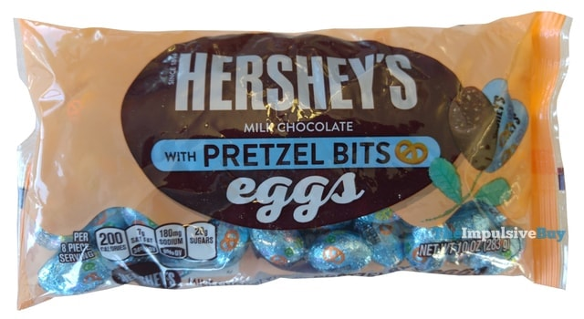 Hershey s Eggs with Pretzel Bits2