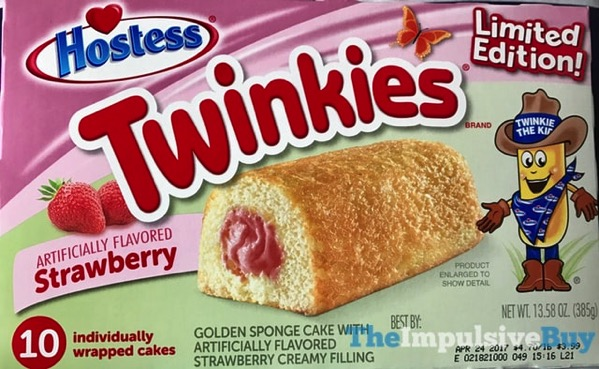 Hostess Limited Edition Strawberry Twinkies
