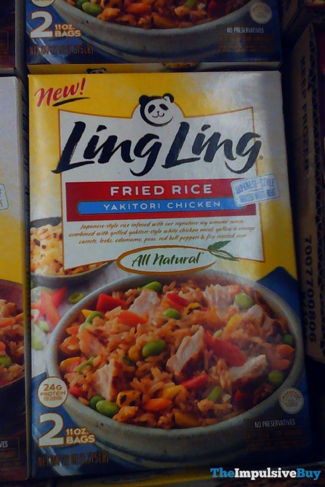 Ling Ling Yakitori Style Fried Rice