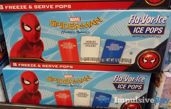 Marvel Spider Man Homecoming Fla Vor Ice