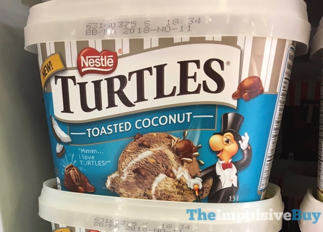 Nestle Turtles Toasted Coconut Frozen Dessert