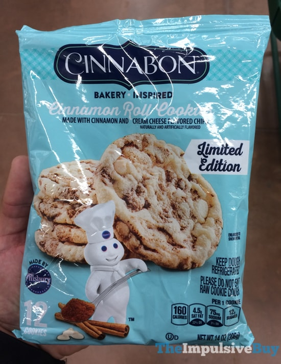 Pillsbury LImited Edition Cinnabon Cinnamon Roll Cookies