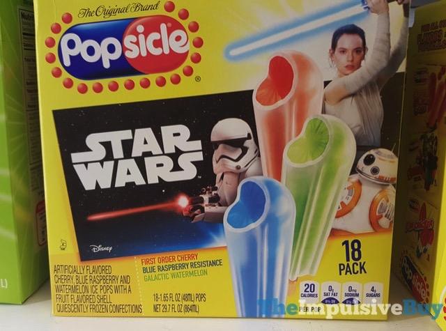 Popsicle Star Wars