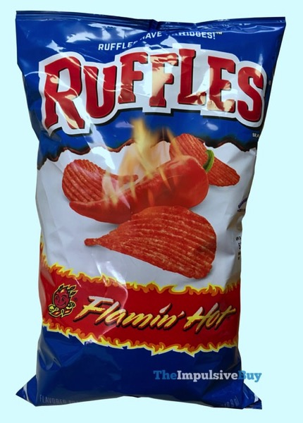 Ruffles Flamin Hot Potato Chips