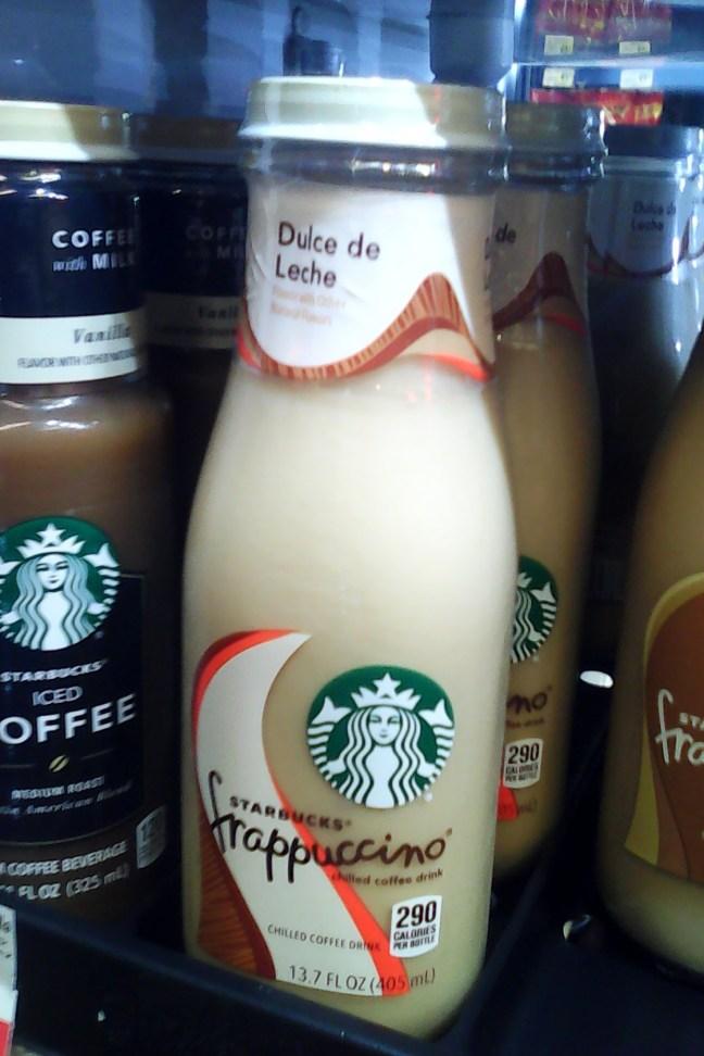 Starbucks Dulce de Leche Frappuccino Coffee Drink