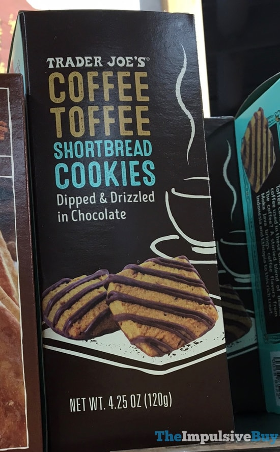 Trader Joe s Coffee Toffee Shortbread Cookies
