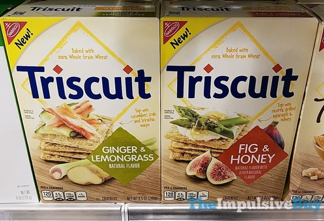 Triscuit Ginger  Lemongrass and Fig  Honey Crackers