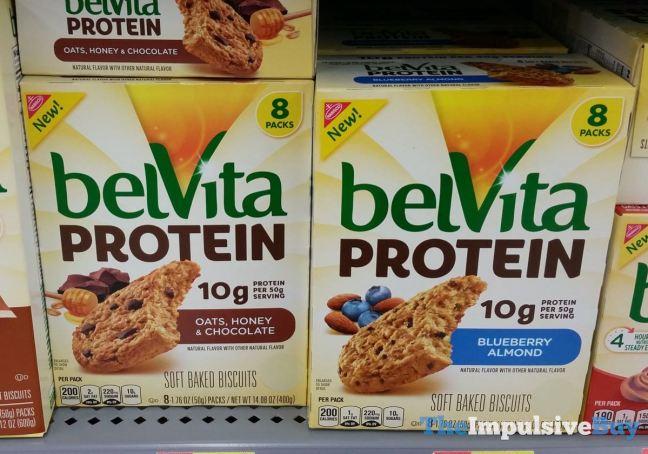 belVita Protein Soft Baked Biscuits