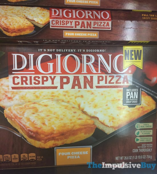DiGiorno Four Cheese Crispy Pan Pizza