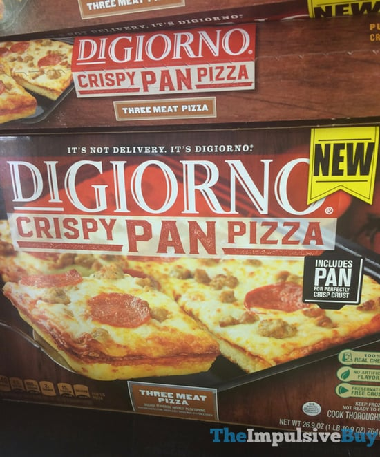 DiGiorno Three Meat Crispy Pan Pizza