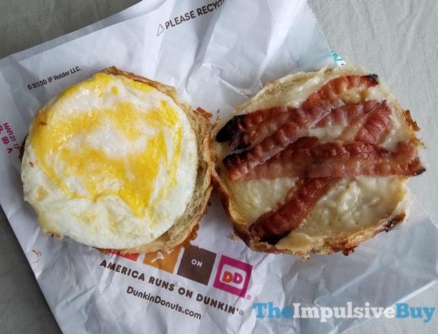 Dunkin Donuts Pretzel Croissant Breakfast Sandwich 3