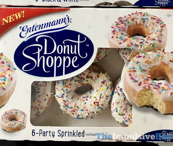 Entenmann s Donut Shoppe Party Sprinkled Iced Donuts