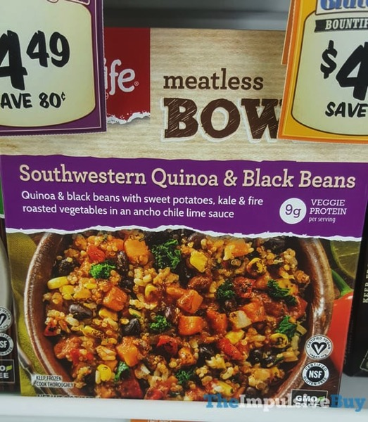 Lightlife Meatless Bowls Southwestern Quinoa  Black Beans