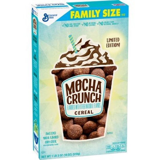 Limited Edition Mocha Crunch Cereal