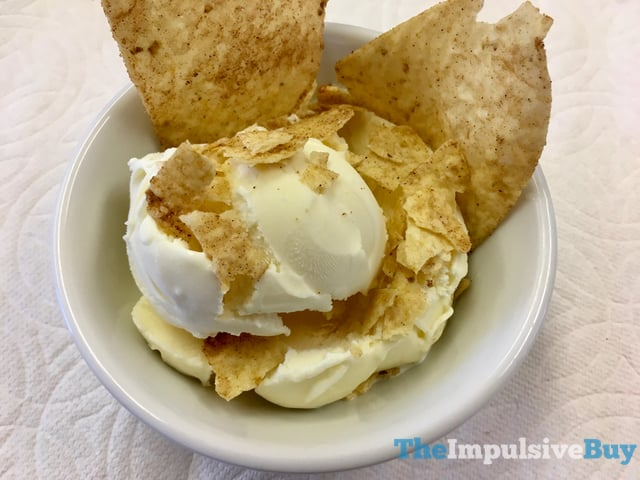 Limited Time Only Tostitos Sopapilla Cinnamon  Sugar Tortilla Chips 4