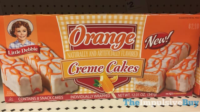 Little Debbie Orange Cream Cakes