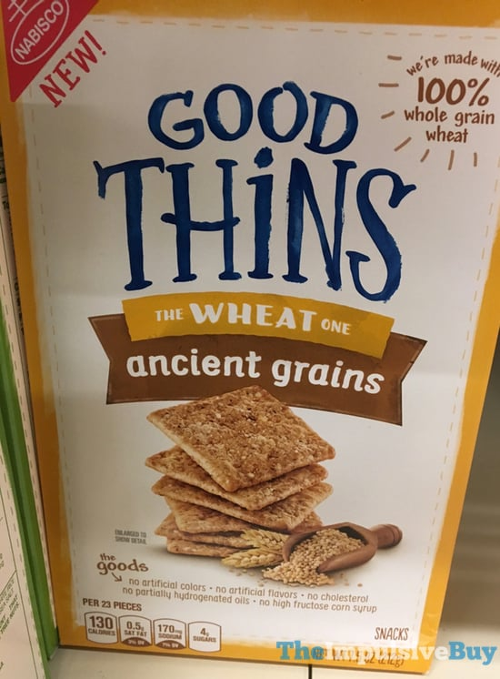 Nabisco Good Thins The Wheat One Ancient Grains