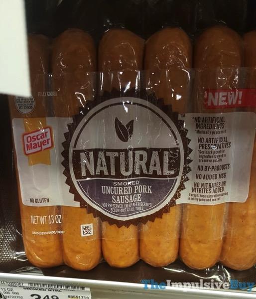 Oscar Mayer Natural Smoked Uncured Pork Sausage
