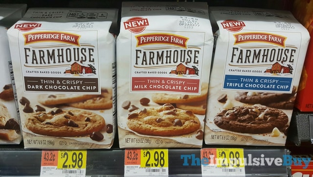 Pepperidge Farm Thin Crispy Farmhouse Cookies