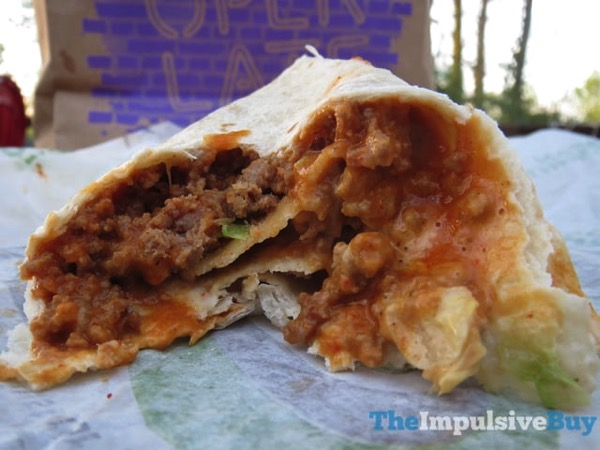 Taco Bell Loaded Taco Burrito 4