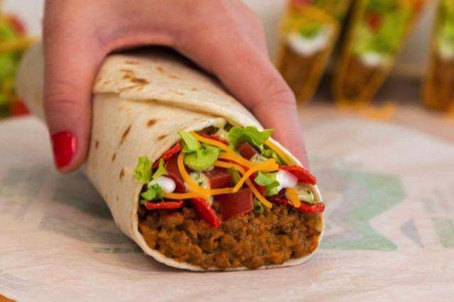Taco Bell Loaded Taco Burrito