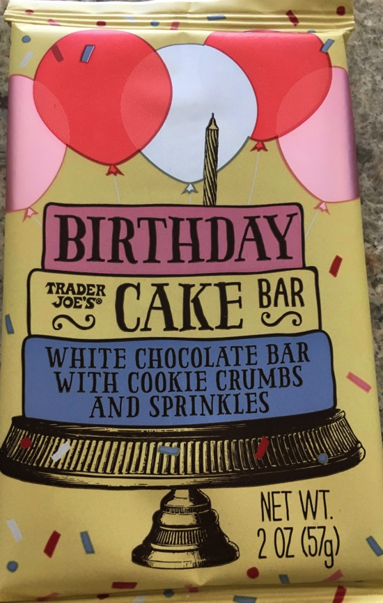 Trader Joe s Birthday Cake Bar