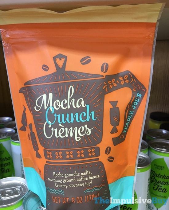 Trader Joe s Mocha Crunch Cremes