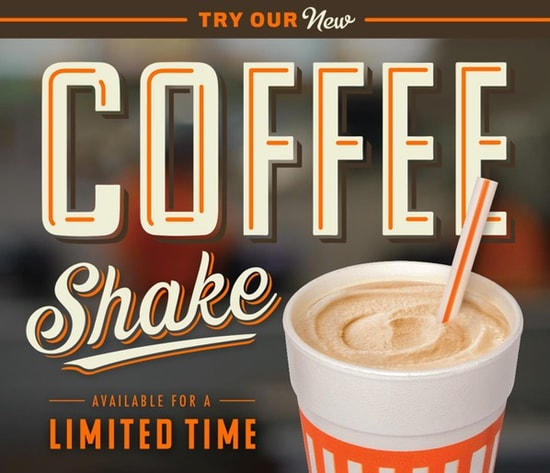 Whataburger Coffee Shake